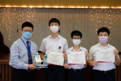 本校學生榮獲香港城市大學電子工程學系—微處理器控制系統設計第二名